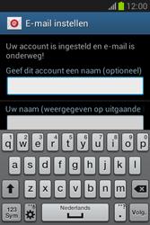 Samsung Galaxy Fame Lite (S6790) - E-mail - Account instellen (POP3 zonder SMTP-verificatie) - Stap 20