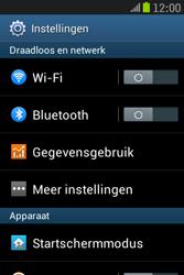 Samsung S6310 Galaxy Young - Wifi - handmatig instellen - Stap 3