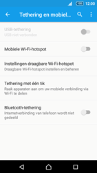 Sony Xperia Z5 Compact (E5823) - WiFi - Mobiele hotspot instellen - Stap 11