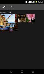 Sony Xpéria E1 Dual - Photos, vidéos, musique - Envoyer une photo via Bluetooth - Étape 6