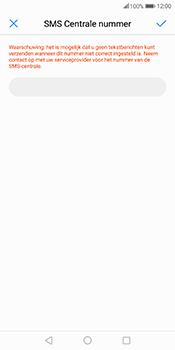Huawei Mate 10 Pro - SMS - Handmatig instellen - Stap 7