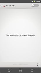Sony Xperia Z1 - Bluetooth - Conectar dispositivos a través de Bluetooth - Paso 5