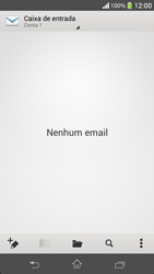 Sony C5303 Xperia SP - Email - Como configurar seu celular para receber e enviar e-mails - Etapa 4