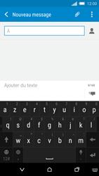 HTC One M8s - MMS - Envoi d