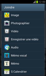 Samsung Galaxy Trend - Contact, Appels, SMS/MMS - Envoyer un MMS - Étape 14
