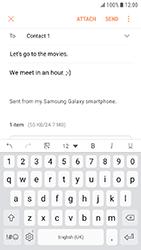 Samsung Galaxy Xcover 4 - E-mail - Sending emails - Step 17
