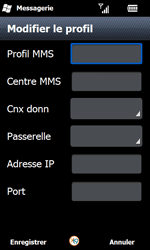 Samsung I8000 Omnia II - MMS - configuration manuelle - Étape 19