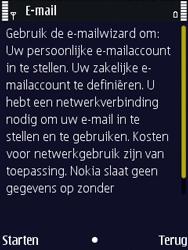 Nokia N86 - E-mail - Handmatig instellen - Stap 6