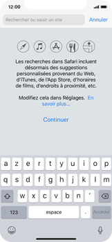 Apple iPhone X - iOS 12 - Internet - navigation sur Internet - Étape 3