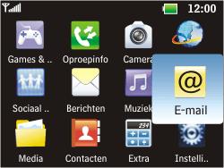 LG C360 Golf - E-mail - Handmatig instellen - Stap 4