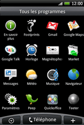 HTC A6262 Hero - Internet - Configuration manuelle - Étape 13