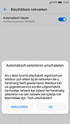 Huawei p10-met-android-oreo-model-vtr-l09 - Netwerk selecteren - Handmatig een netwerk selecteren - Stap 8
