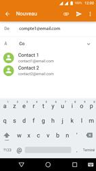 Wiko U-Feel Lite - E-mail - Envoi d