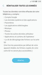 Samsung Galaxy A5 (2016) (A510F) - Android Nougat - Device maintenance - Retour aux réglages usine - Étape 8
