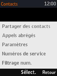 Nokia 3310 - Messagerie vocale - Configuration manuelle - Étape 5