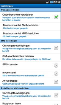 Samsung P1000 Galaxy Tab - SMS - Handmatig instellen - Stap 5