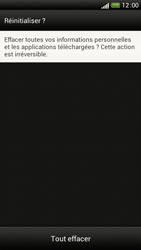 HTC One S - Aller plus loin - Restaurer les paramètres d'usines - Étape 7