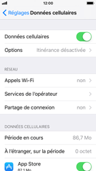 Apple iPhone SE - iOS 11 - Internet - activer ou désactiver - Étape 4