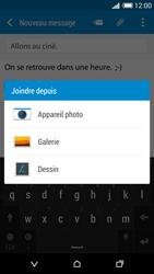 HTC Desire 820 - E-mails - Envoyer un e-mail - Étape 12