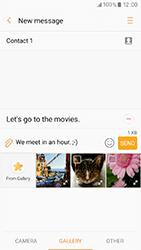 Samsung A320 Galaxy A3 (2017) - Mms - Sending a picture message - Step 12