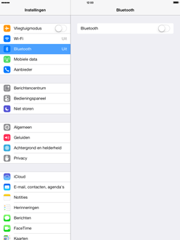 Apple iPad 4th generation (Retina) met iOS 7 - Bluetooth - Headset, carkit verbinding - Stap 4