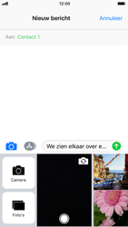 Apple iPhone 7 iOS 11 - MMS - hoe te versturen - Stap 10