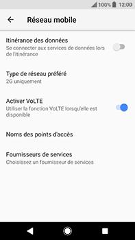 Sony Xperia XA2 Ultra - Internet et connexion - Activer la 4G - Étape 6