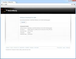 BlackBerry 9800 Torch - Software - Update installeren via PC - Stap 5