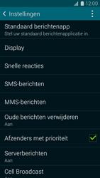 Samsung Galaxy K Zoom 4G (SM-C115) - SMS - Handmatig instellen - Stap 6