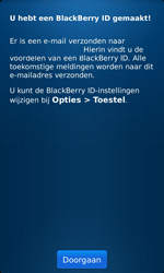 BlackBerry 9860 Torch - BlackBerry activeren - BlackBerry ID activeren - Stap 10