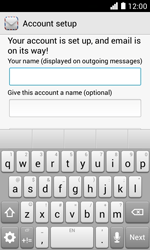 Huawei Ascend Y330 - Email - Manual configuration - Step 20