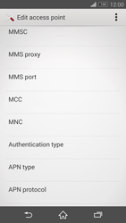 Sony D5803 Xperia Z3 Compact - MMS - Manual configuration - Step 11