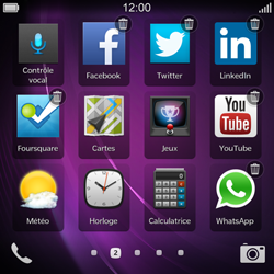 BlackBerry Q10 - Applications - Supprimer une application - Étape 4