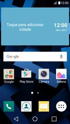 LG K4 - Internet no telemóvel - Como ativar os dados móveis -  1