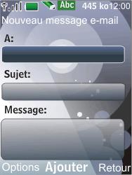 Nokia 7210 supernova - E-mail - Envoi d