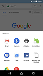 Sony Xperia XZ Premium - Internet - Internet gebruiken - Stap 22