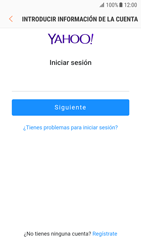 Samsung Galaxy S7 - Android Nougat - E-mail - Configurar Yahoo! - Paso 7