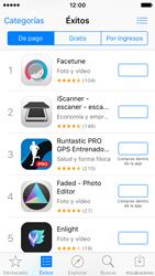 Apple iPhone SE - Aplicaciones - Tienda de aplicaciones - Paso 4