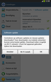 Samsung T315 Galaxy Tab 3 8-0 LTE - Software update - update installeren zonder PC - Stap 7
