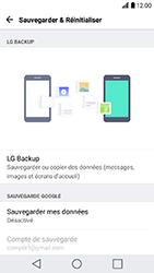 LG K10 2017 - Device maintenance - Back up - Étape 7
