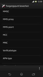 Sony C6603 Xperia Z - MMS - Handmatig instellen - Stap 13