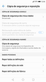 Huawei Mate 9 - Repor definições - Como repor definições de fábrica do telemóvel -  6
