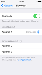 Apple iPhone 5s iOS 9 - Bluetooth - connexion Bluetooth - Étape 8