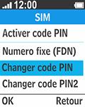 Bouygues Telecom Bc 211 - Sécuriser votre mobile - Personnaliser le code PIN de votre carte SIM - Étape 12