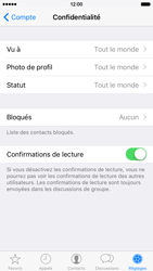Apple iPhone 6 iOS 9 - WhatsApp - Définir votre photo de profil et votre fond d'écran dans WhatsApp - Étape 13
