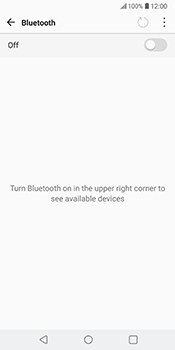 LG V30 - Bluetooth - Pair with another device - Step 6