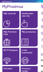 Microsoft Lumia 532 - Applicaties - MyProximus - Stap 17