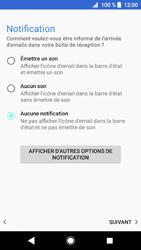 Sony Xperia XZ1 - E-mails - Ajouter ou modifier un compte e-mail - Étape 22