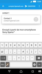 Sony Xperia M4 Aqua - E-mails - Envoyer un e-mail - Étape 6