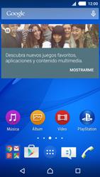 Sony Xperia M4 Aqua - Red - Seleccionar una red - Paso 1